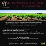 Taller de vino en 4 sesiones